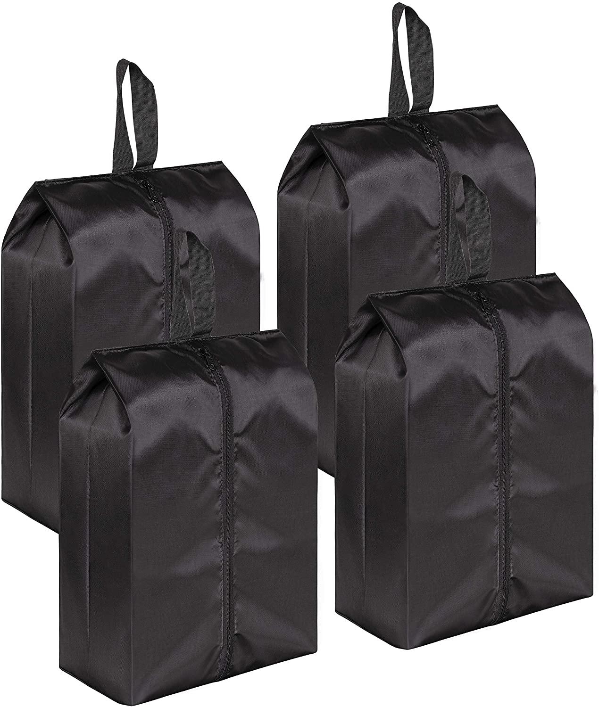 Travel Shoe Bags Portable Nylon with Zipper Closure