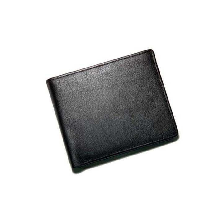 Leather Black Men's Wallet