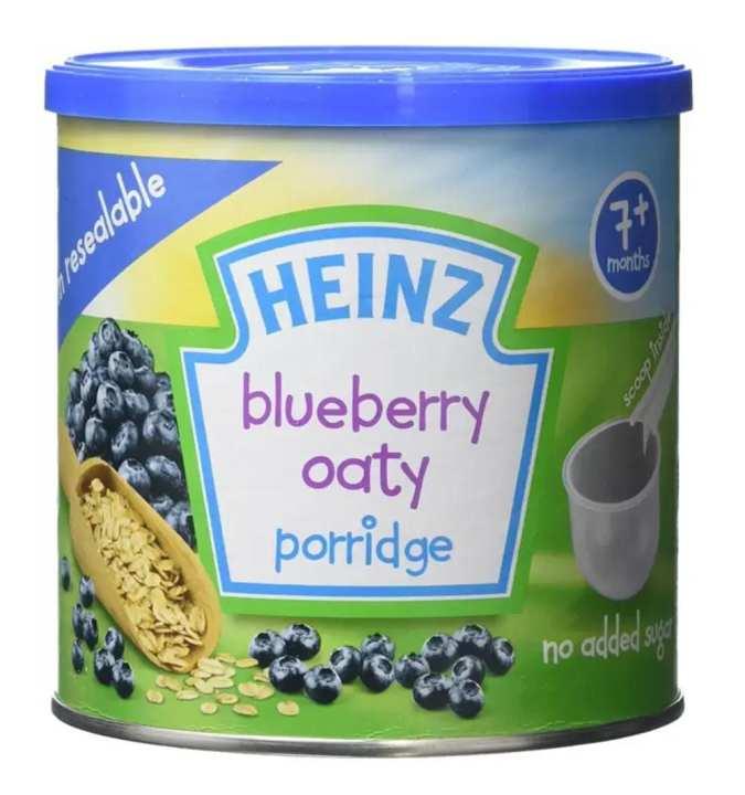 Heinz Blueberry Oaty Porridge Cereal 240 GM