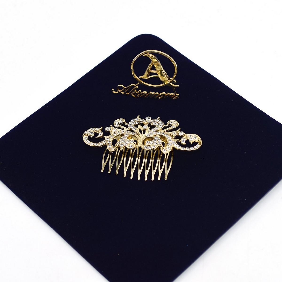 Crystal Bridal Hair Clip Vintage Handmade Hair Ornaments Europe and America Headpiece Wedding Hair Accessories