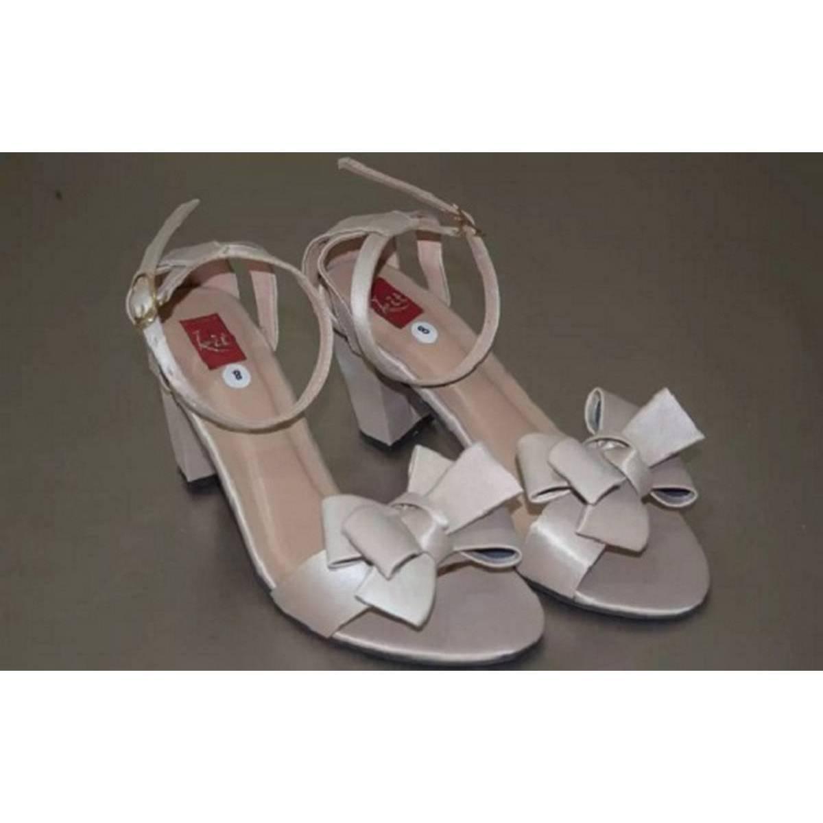 Stylish Trending Women Butterfly High Heel sandal
