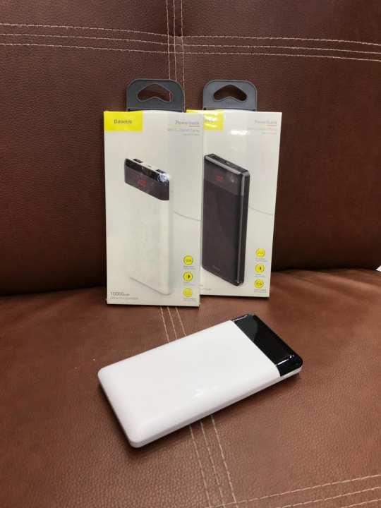 10000mAh Qualcomm QC3.0 Thin Fast Charging Power Bank Digital Display