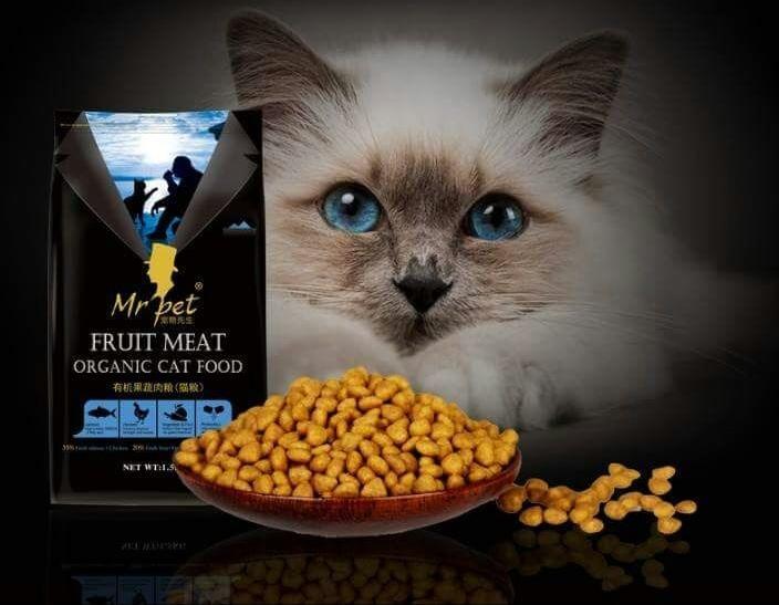 1pcs 500g Organic Cat Food All Stages Mr Pet