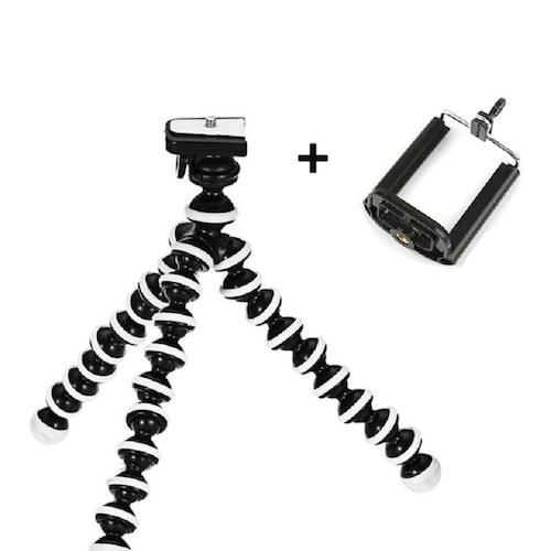 Z01 Strong Flexible tripod for Mobiles & Digital Cameras With Phone Holder Octopus Stand