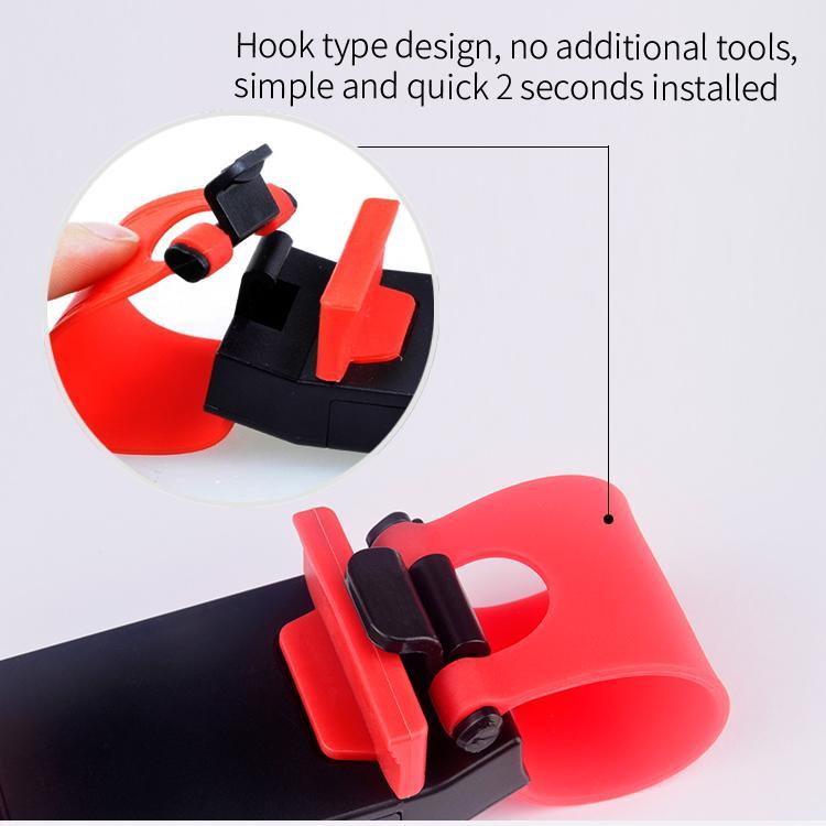 Vesany lighter socket custom logo universal steering wheel smart phone car holder