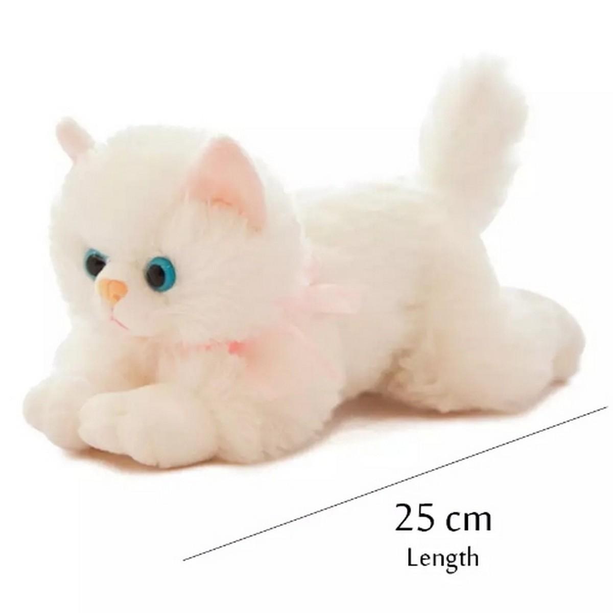 Cat stuffed animal soft cat plush toy.