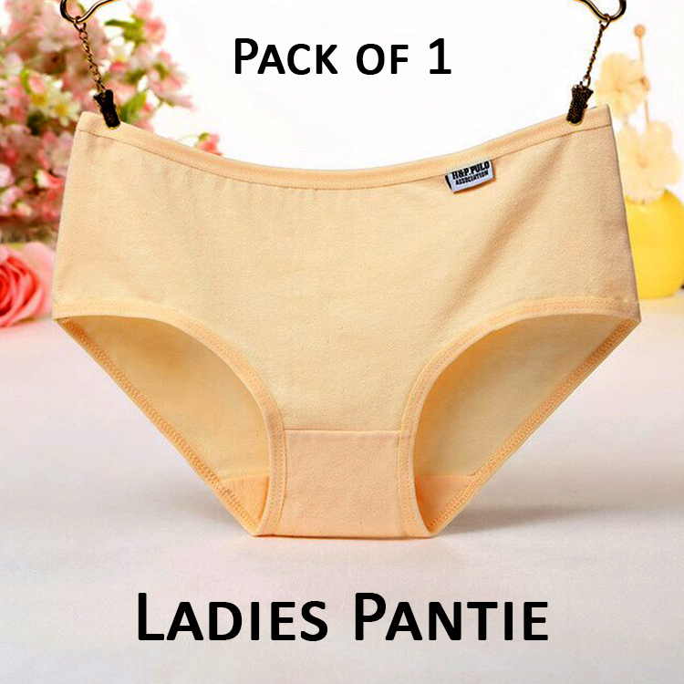 Multi Packs of Panties for Ladies Plain Underwear Made of Cotton Panty for Women For Casual and Specific Periods