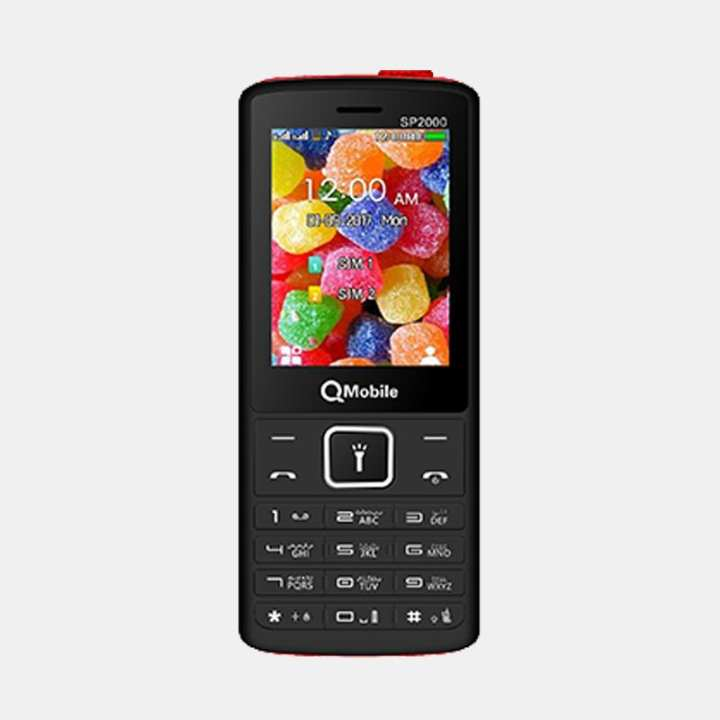 Qmobile SP2000 - 2.4 inches display - 4000mAh battery - Camera with flash