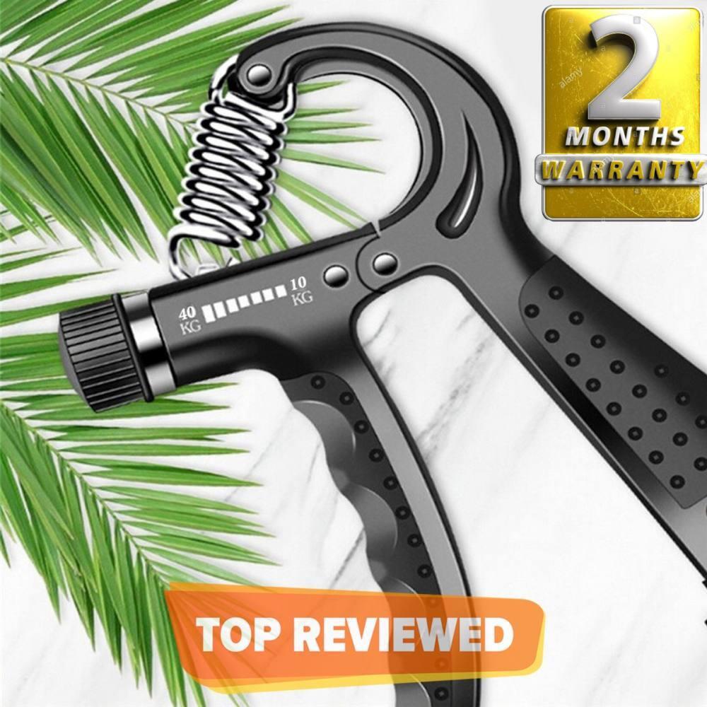 Adjustable Hand Grip Power Exerciser Forearm Wrist Strengthener Gripper