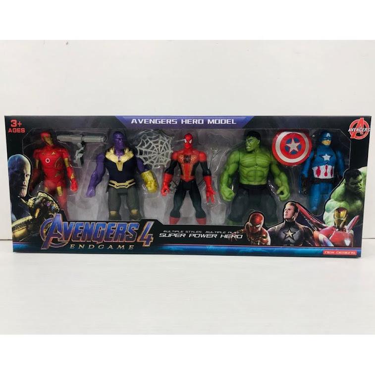 Avengers Figure 5 Pcs Set For Kids