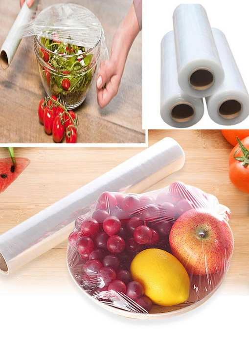 Food Wrap Baking Paper Cling Film Foil Factory Manufacture PE Cling Food Wrap Film, Food Plastic Wrap Food Grade PE Cling Film