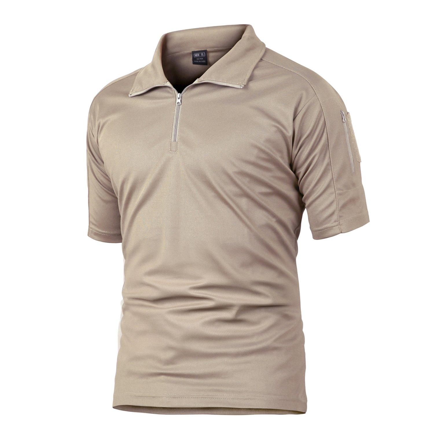 e6bd310e4 Men Polo shirt khaki PS-01