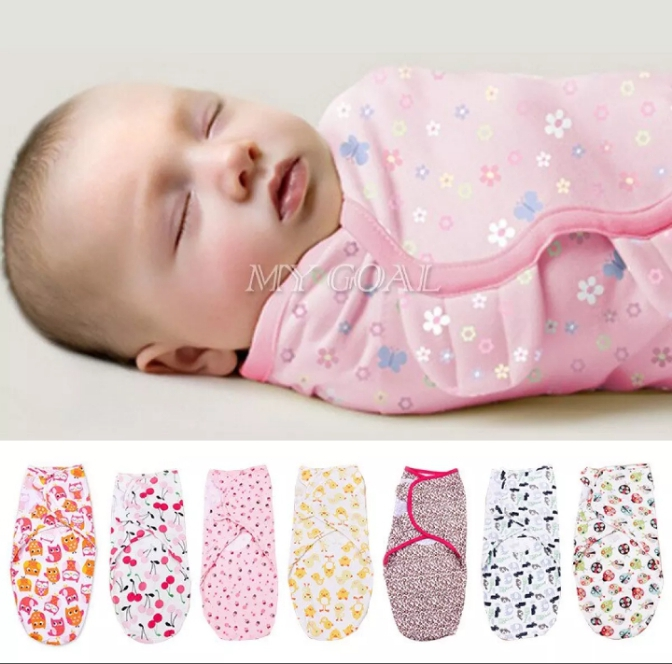 High Quality Super Soft 100% Cotton Swaddle Ultra Comfort Adjustable Swaddle Infant Baby Wrap - Baby Swaddle Wrap New Born Baby Swaddle Wrap Swaddle Wrapping Sheet Baby Swaddles