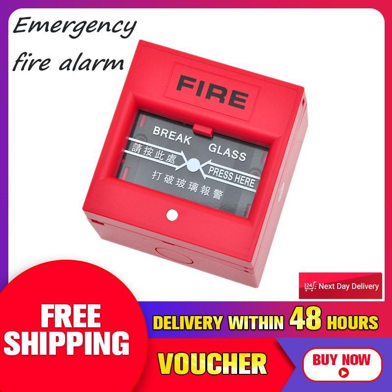 Emergency Door Release Fire Alarm Swtich Break Glass Exit Release Switch Glass B