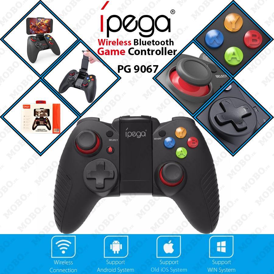 Original IPEGA PG 9067 Portable Size Wireless Bluetooth V3.0 Gamepad Joystick Game Controller Suitable