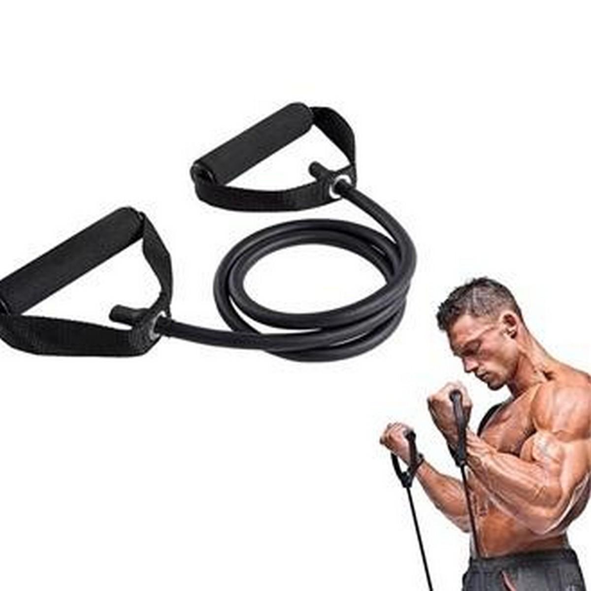 Latex Elastic Tube Resistance Bands Pull Rope Gym Yoga Fitness Equipment