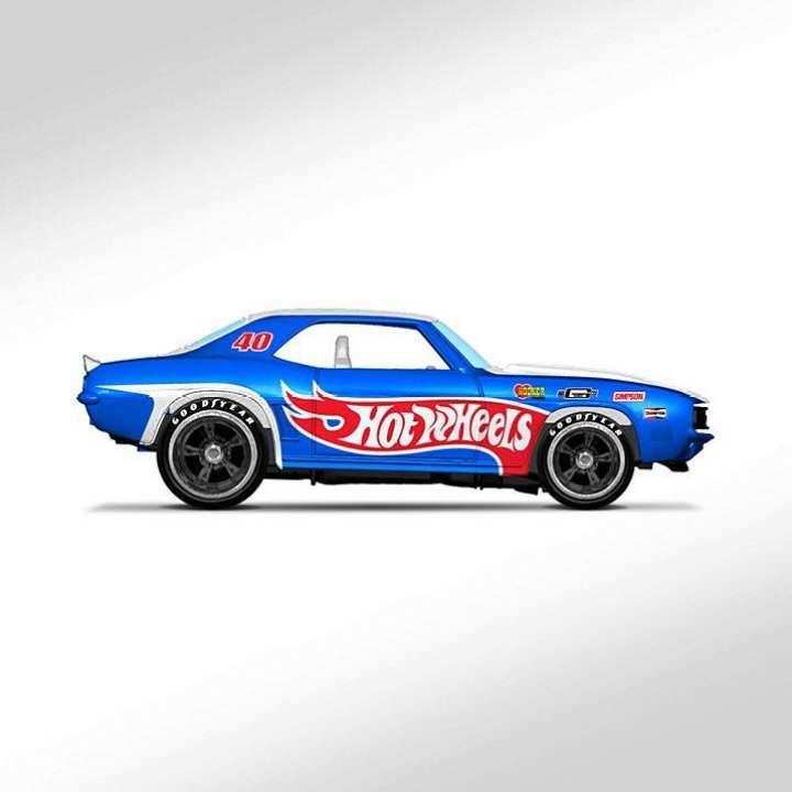 Hot Wheel Metal Racing Toy Car '69 Camaro