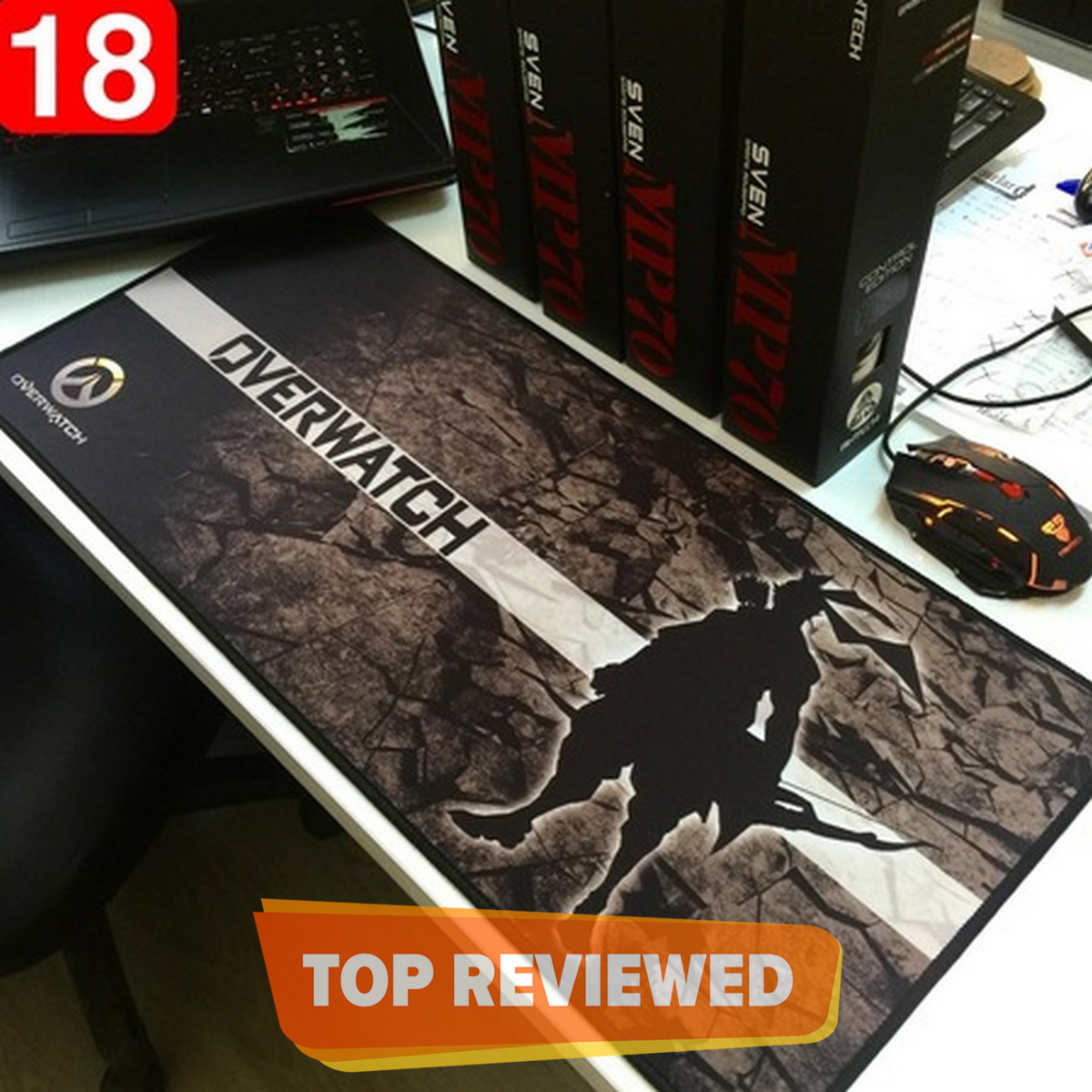 Extended Large Soft Speed Edition Gaming Mouse Mat/Pad