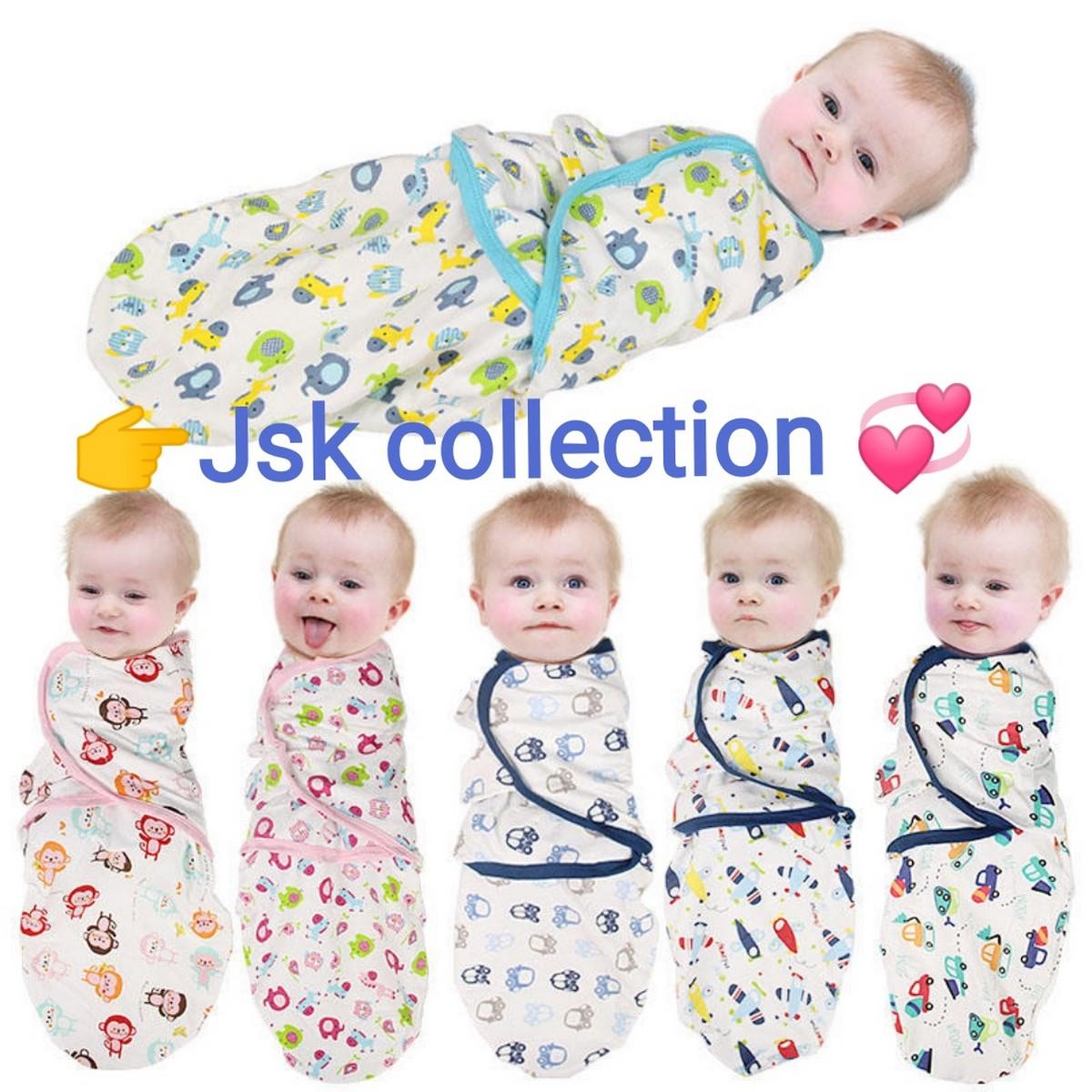 Summer SwaddleMe Assorted Design infant Adjustable Wrap Cotton Swaddle Wrapping Sheet
