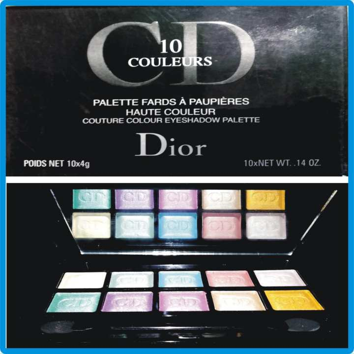 Dioreye shadow 10 couleurs 10 colors palette