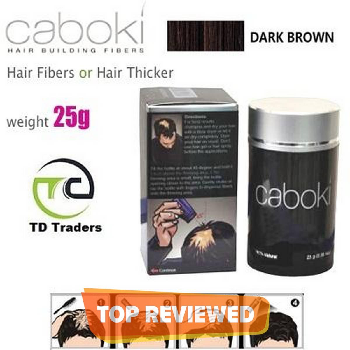 Caboki Hair Fibers DARK Brown 25g