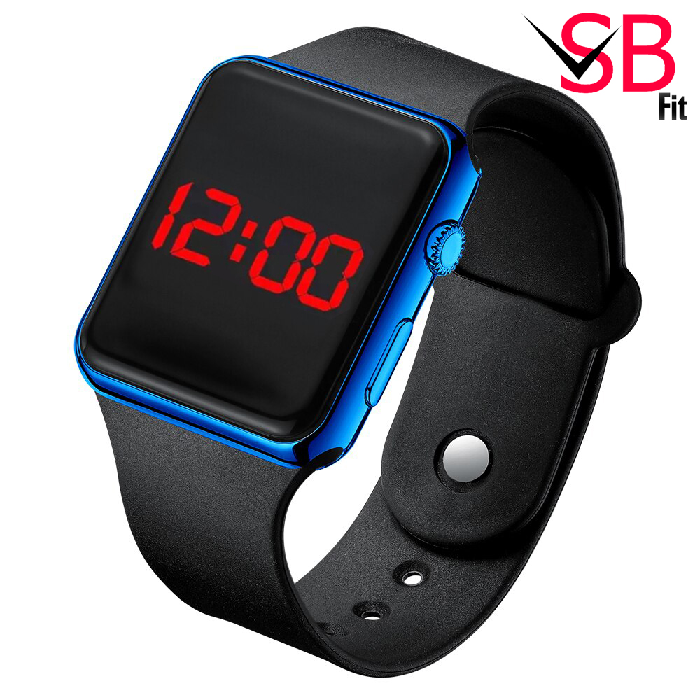 Stylish Silicone Strap Watch For Girls - High Quality Led Watches For Women Girls & Ladies -  3 Colors