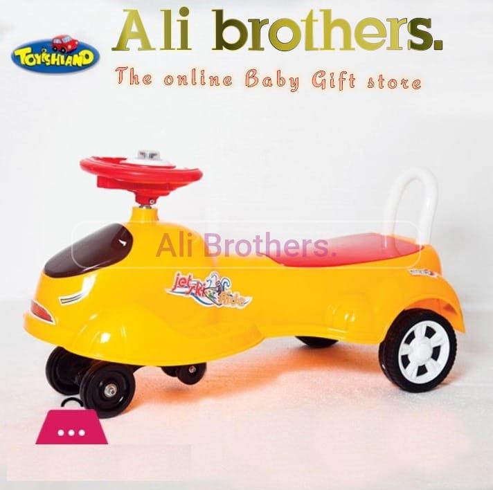 Kids Toys Auto Walker Swing Car (Steering Drive) Jet Ski Ride