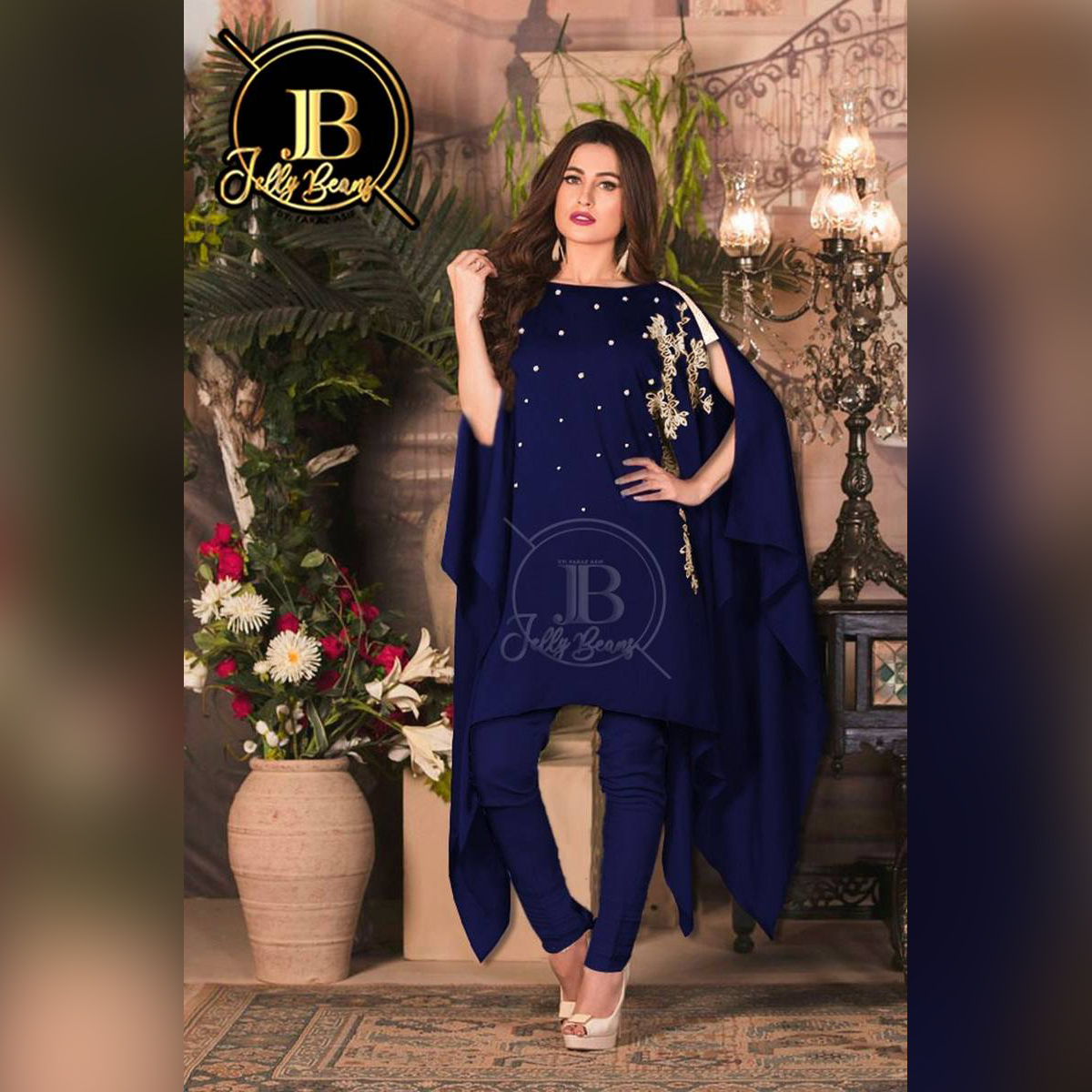 MIB Stylish Two Piece stitched suit / Butterfly / Designer Suit / Heavy Embroidery Shirt / For Women and Girls / Latest Designer / 2 Piece / Stitched Suit