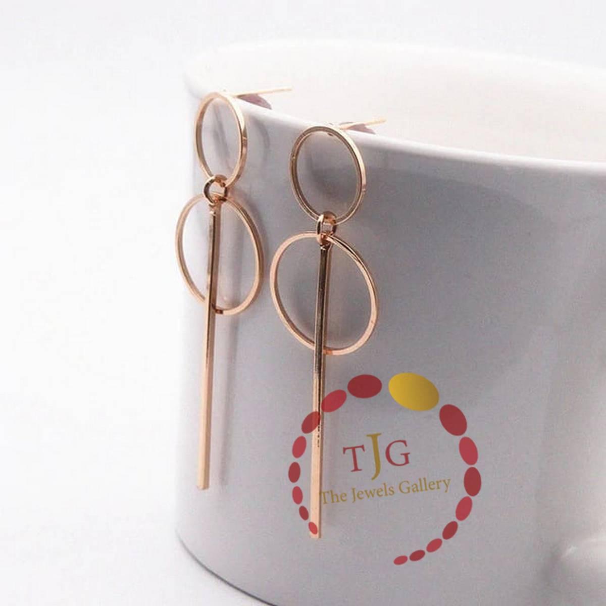 Korean Style Acrylic Drop Earrings - Stylish earrings for girls - Beautiful Earings for Girls - Trendy Earings 2021 - Long Imported Fashion Jewellery