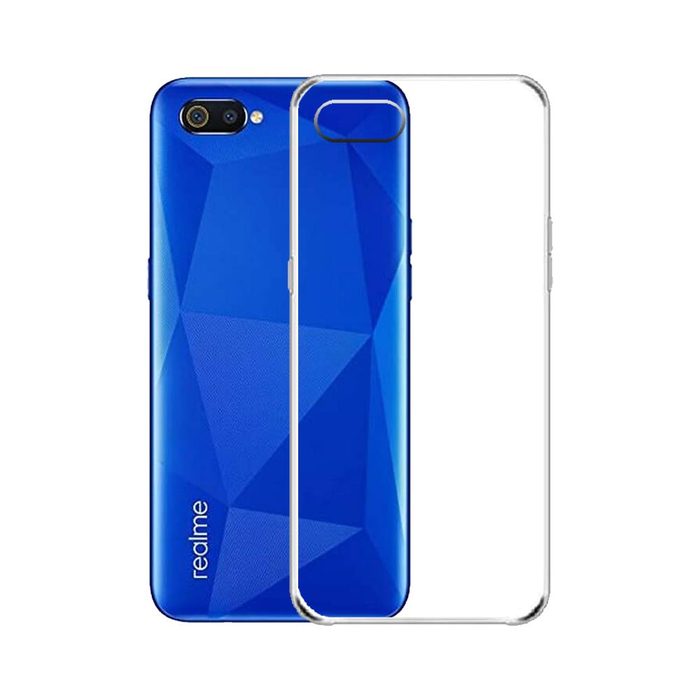 Realme C2 Crystal Clear Silicone Back Case Jelly TPU - Transparent