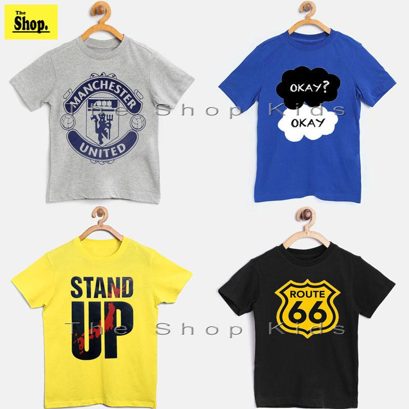48015a4b6 The Shop - Pack Of 4 - High Quality Trendy & Stylish T-Shirts For