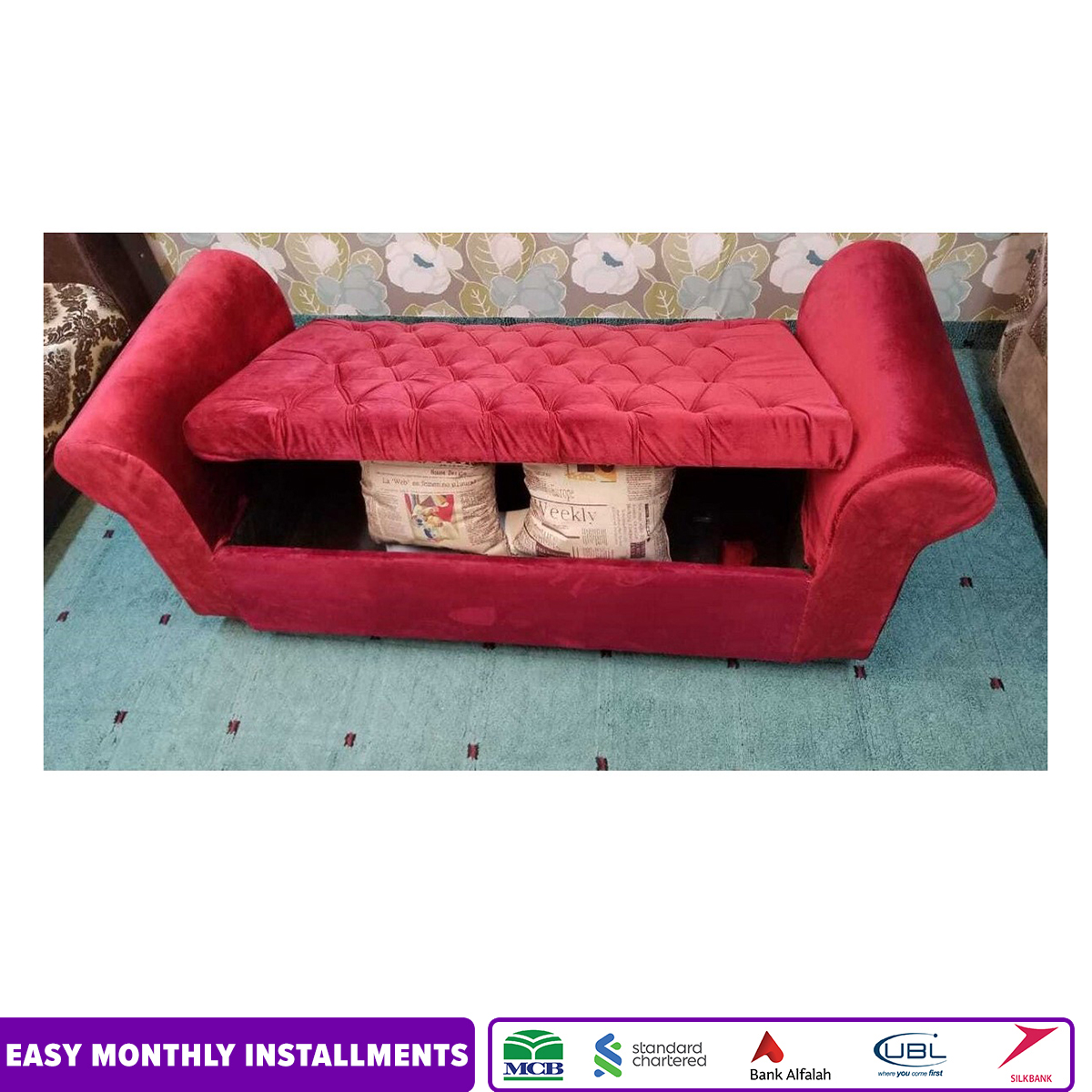 Sofa Sette with Storage Space