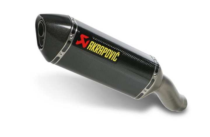 Universal Bike Exhaust Akrapovic Black
