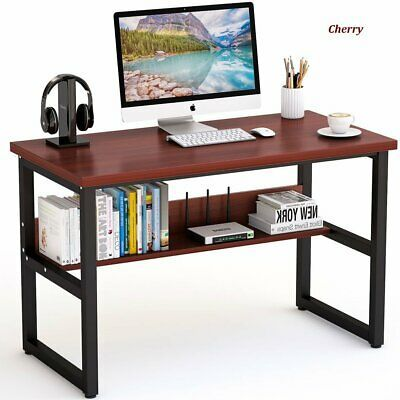 Office Table Study Table  Desktop Table With Book Shelf Office Desk Book Shelf Laptop Table Computer Table  48