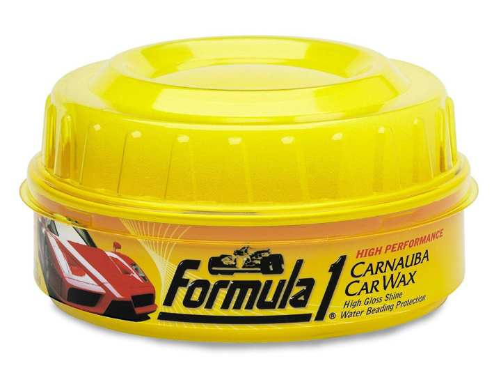 Formula 1 Wax Polish for Car and Bike 340g - White