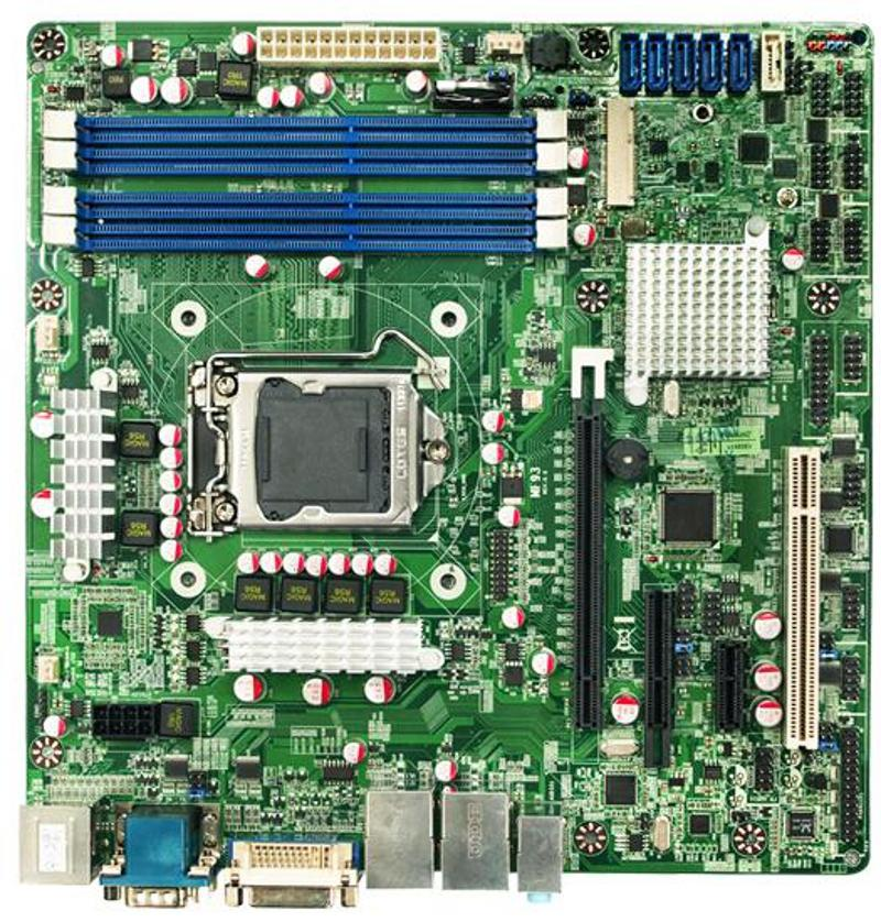 Intel Micro-ATX For 3rd Generation i3/i5/i7 Motherboard with Intel Q77  Express Chipset