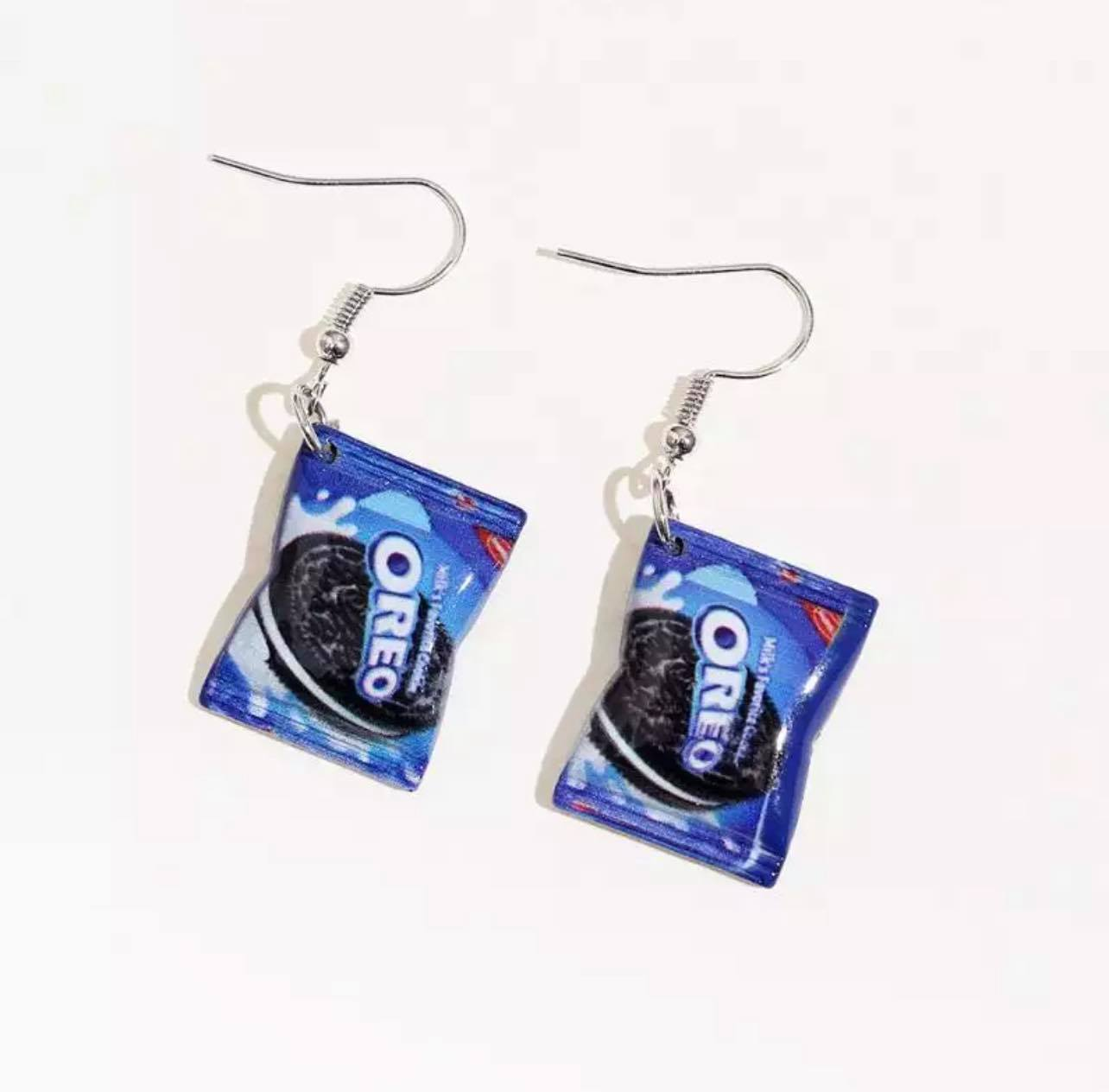 Fashion Jewellery 1 Pair Of Biscuit Packet Shape Dangle Earrings For Women