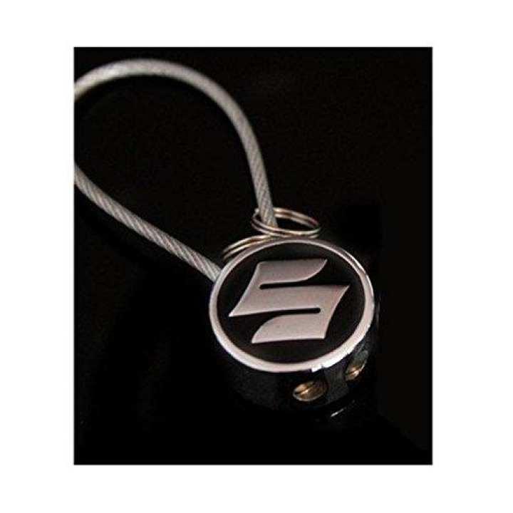 SUZUKI High Quality Logo Wire Key Ring for Bike, Cars & SUVs
