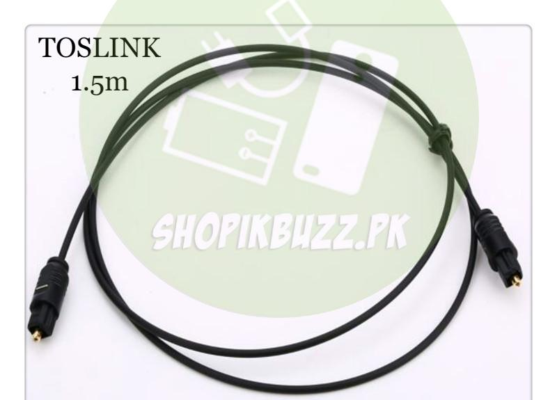 Digital Optical Audio Toslink Cable Spdif Fiber Optical SPDIF Cable Male to  Male Audio TosLink Cable
