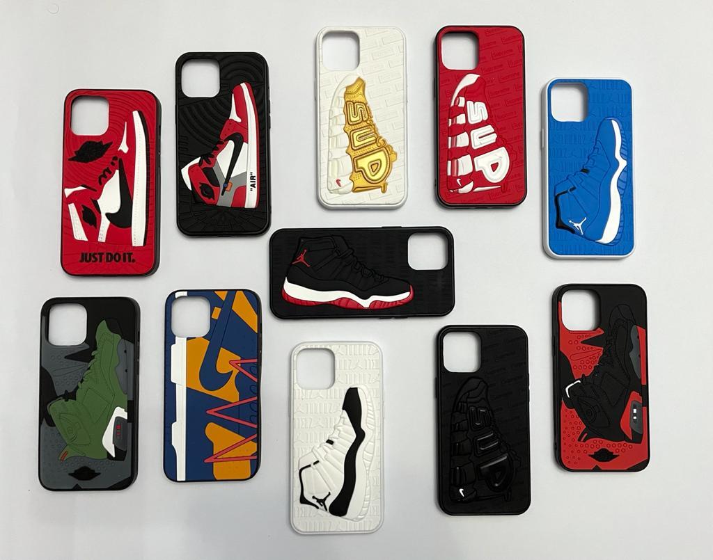 11 Pro Max Air Jordan sneaker phone case - Soft 3D Air Jordan Supreme case for 11 Pro Max