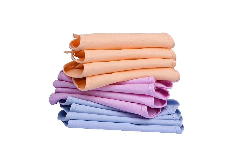 Pack of 24 piece Multicolour Cotton Langot / Nappy For newborn Babies