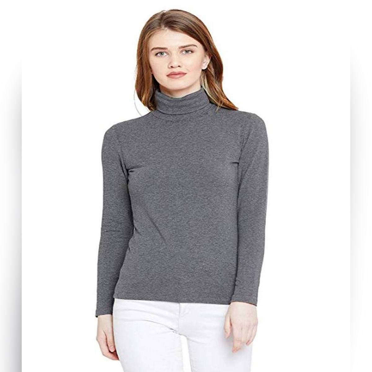 Pack of 1 – Winter Slim Fit High Neck for Women