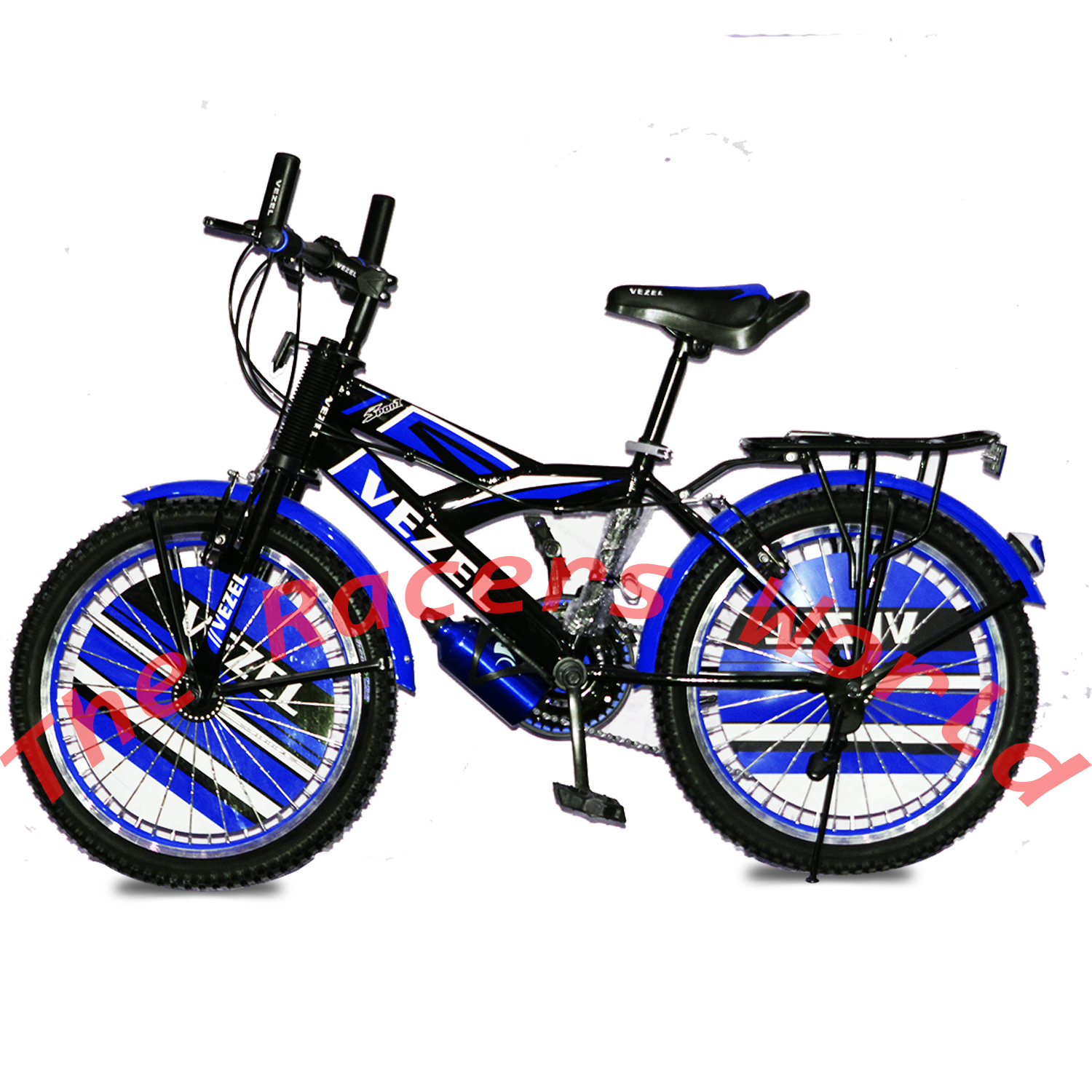 original Germany Imported Vezel 20 Inch Bicycle For Boys with Water Bottle - Heavy Spokes - Heavy Aluminium Frame 20 Inch 10 Gears ( 3 Front 7 rare )Color of Your Choice