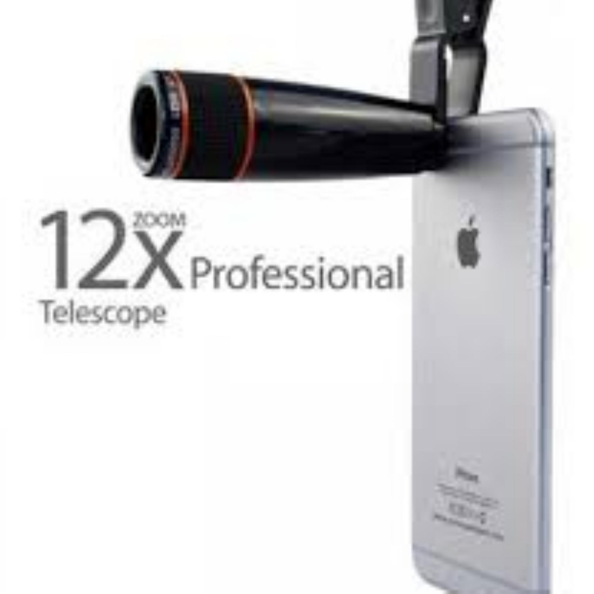 12x Zoom Lens Telescope For Smartphone