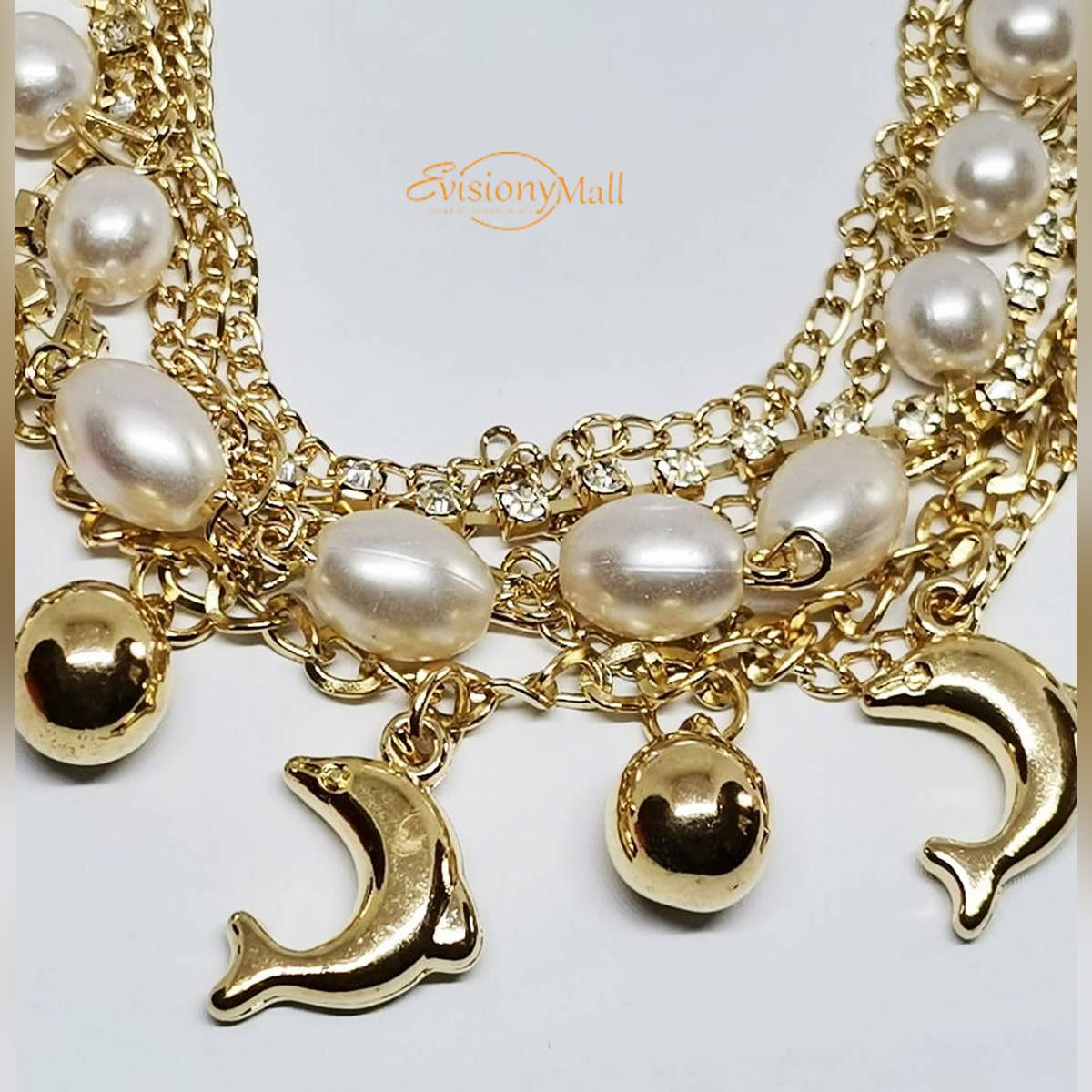Golden Bracelet for Girls 1148