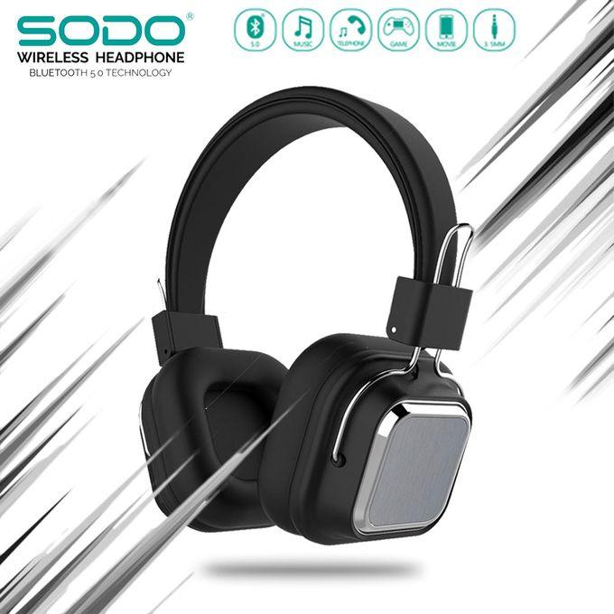 SODO SD-1003 Bluetooth Wireless Headphone with Mic: Buy Online at Best  Prices in Pakistan | Daraz.pk