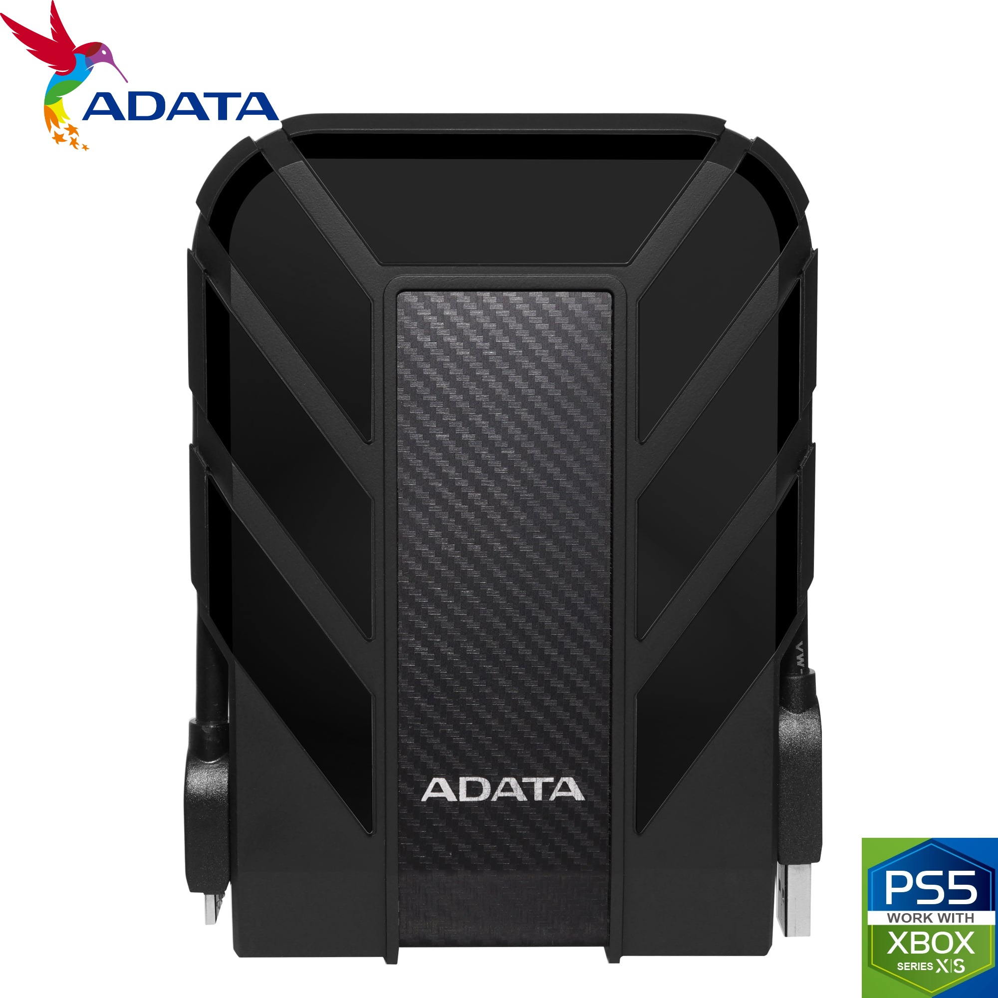 ADATA 4TB HD710 Pro USB 3.2 External Hard Drive Waterproof/Shockproof/Dustproof Ruggedized Black