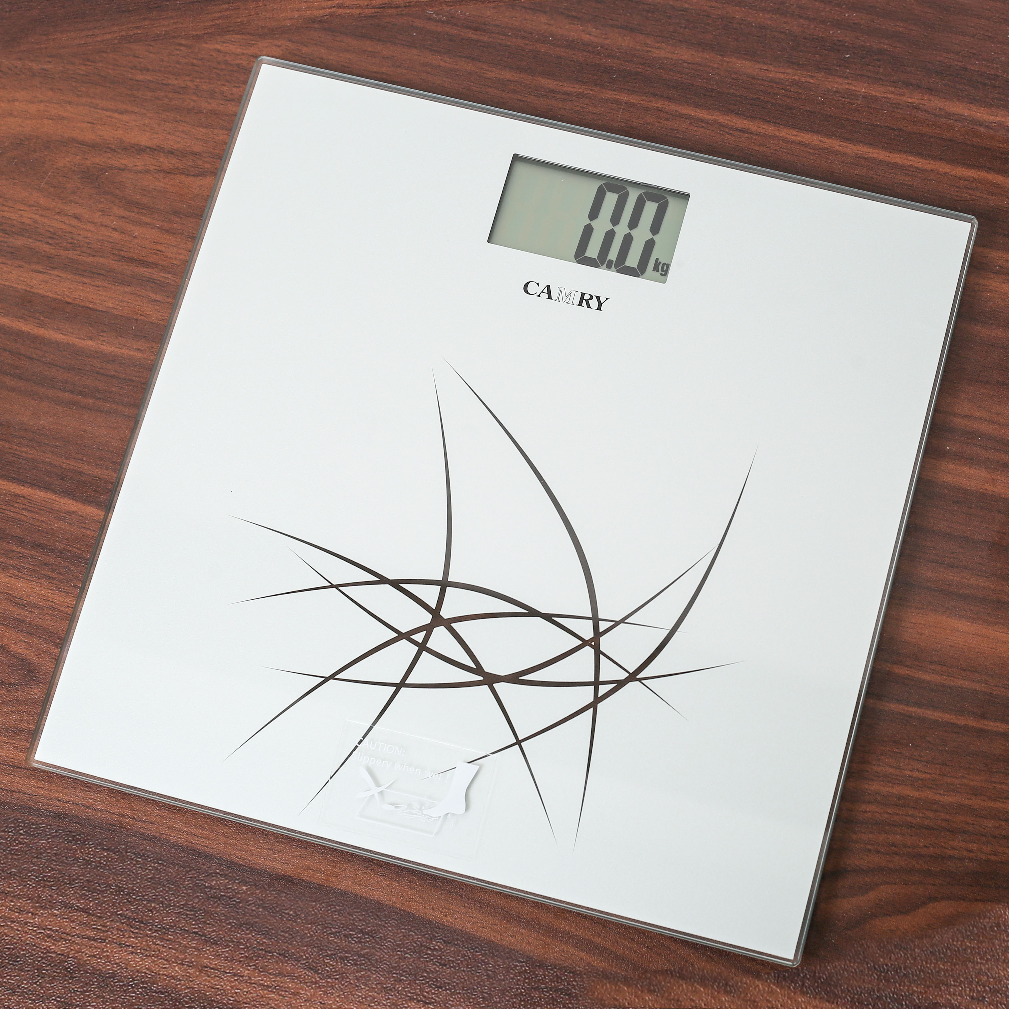 Camry Digital Body Weight Glass Scale - Weight Machine - Bathroom scale Black Colour