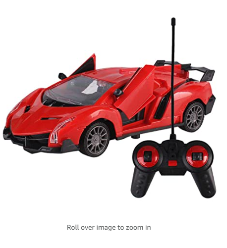 New Fast Furious Remote Control Car Open Doors RC Sport Racing Model Car Toys With Headlights For Kids
