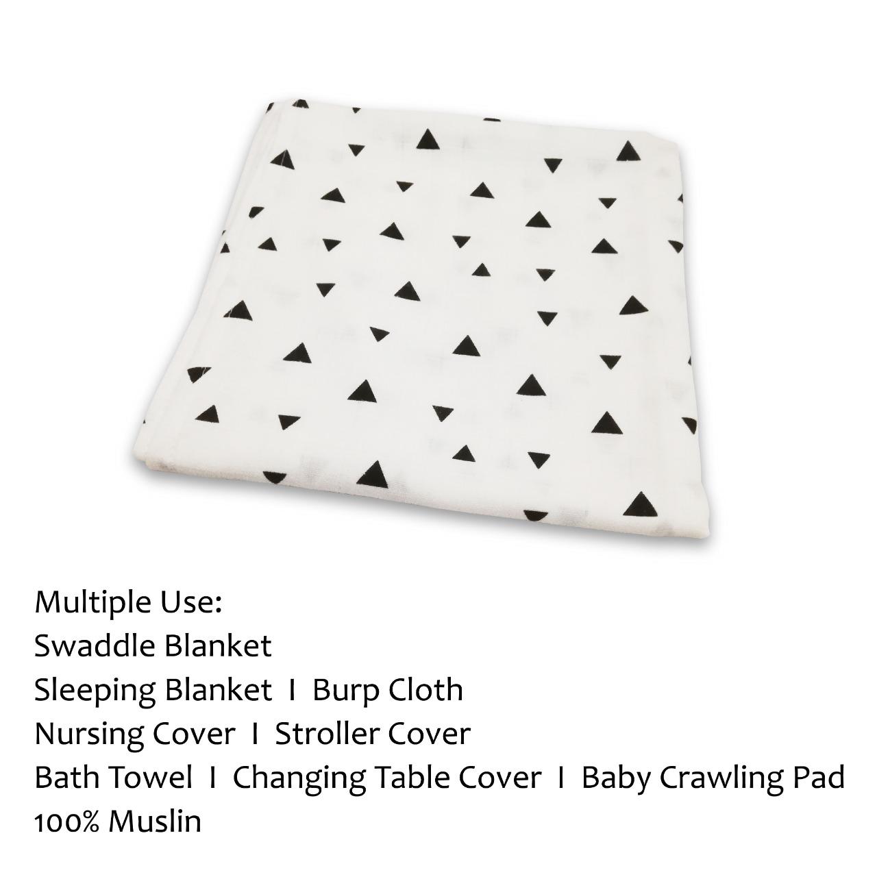 100% Muslin Cotton Newborn Infant Swaddle Baby Soft Blanket Wrap Towel